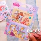 迪士尼悠遊卡貼票卡貼紙 公主系列 長髮公主 貝兒 悠遊卡貼票卡貼紙 COCOS DS025