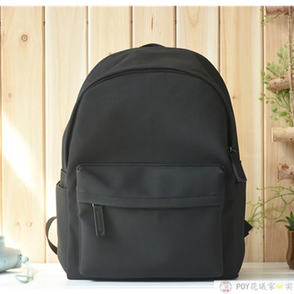 文藝PU皮後背包 女韓版雙肩書包《印象精品》b1462