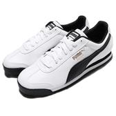 Puma 休閒鞋 Roma Basic 白 黑 男鞋 女鞋 運動鞋 皮革鞋面 基本款 【PUMP306】 35357204
