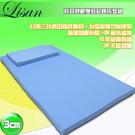 LISAN寶貝舒眠雙寶記憶床墊組  柔軟舒適 ! 寶寶專用!-藍  賣點購物