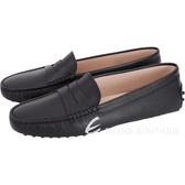 TOD'S Gommino 防刮牛皮豆豆休閒鞋(女鞋/黑色) 1840020-01
