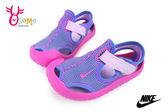 NIKE小童涼鞋 SUNRAY PROTECT (TD) 護趾防滑涼鞋N7162#紫色◆OSOME奧森童鞋_pic