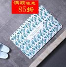 硅藻土吸水腳墊硅藻泥腳墊新款印花浴室地墊日本創意吸水防滑墊