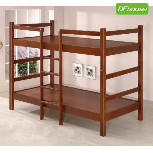 《DFhouse》凱恩3.5尺實木雙層床-單人床 雙人床 床架 床組 實木
