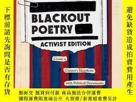 二手書博民逛書店Make罕見Blackout Poetry: Create a