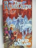 【書寶二手書T5/原文小說_AI5】The Runelords_David Farland