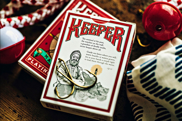 【USPCC撲克】MARKED red keeper Playing Cards