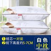 枕頭枕芯一對羽絲絨護頸椎枕單人成人學生可水洗軟枕 黛尼時尚精品