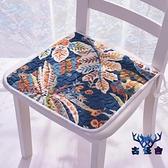 防滑坐墊四季通用薄款椅墊凳墊椅子餐椅墊【古怪舍】