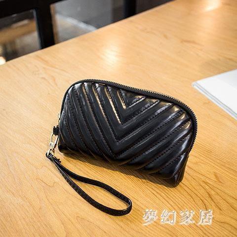 2019女士手拿包時尚軟皮大容量錢包潮流零錢包 JH534 『夢幻家居』