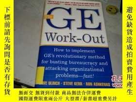 二手書博民逛書店The罕見GE Work-Out【外文原版書】Y164178 D