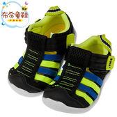 《布布童鞋》日本IFME黑色寶寶機能水涼鞋(12.5~14.5公分) [ P8A400D ]