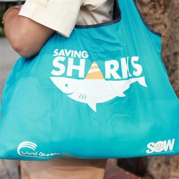 愛鯊環保購物袋【荒野保護協會】