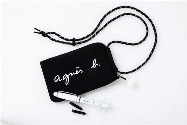 agnes b.時尚情報特刊:附肩背包&鋼筆