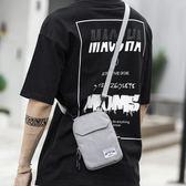潮流男士斜背包旅行手機證件迷你單肩小掛包運動斜背包蹦迪包男包   傑克型男館
