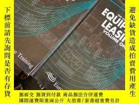 二手書博民逛書店The罕見Handbook of Equipment Leasing (1-2卷)设备租赁手册 英文原版精装
