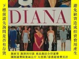 二手書博民逛書店戴安娜王妃的時尚世界罕見Dressing DianaY17705