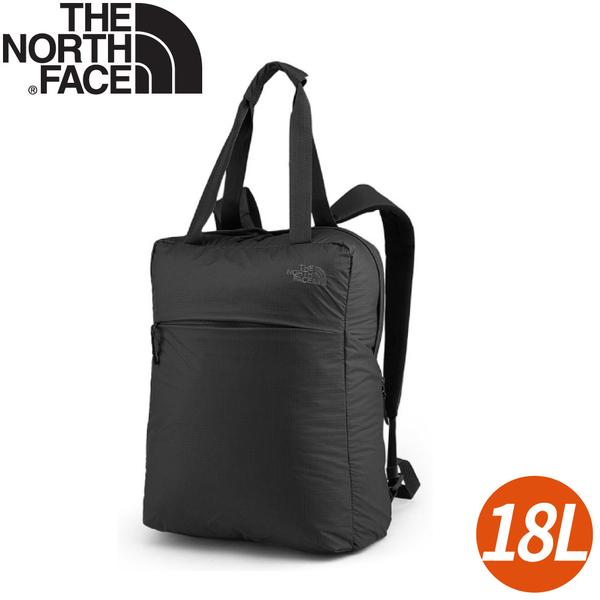 【The North Face Glam Tote 抗撕裂旅行雙肩背包18L《黑》】3RHV/後背包/手提包