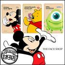 韓國 The face shop X Disney 迪士尼 保濕 面膜 25g 米奇 大眼怪 小熊維尼 甘仔店3C配件