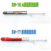[富廉網] SW-16 A級銀質散熱膏 SW-17 超導體散熱膏