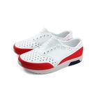 native LENNOX BLOCK 懶人鞋 洞洞鞋 白/紅 小童 童鞋 13105002-8765 no911