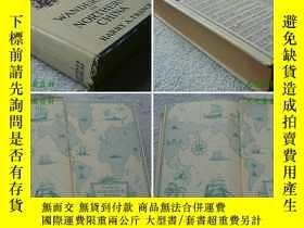 二手書博民逛書店1923年英文原版《中國北方漫步》Wandering罕見in n
