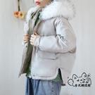 羽絨外套 短款棉服女2020新款韓版寬鬆ins面包服學生棉襖加厚羽絨外套冬 VK4546