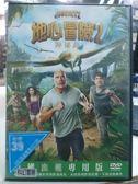 挖寶二手片-C04-031-正版DVD*電影【地心冒險2神秘島】-巨石強森