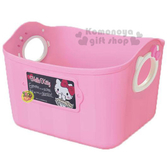 〔小禮堂〕Hello Kitty 日製軟式收納盒《L.粉》2.5L 4904121-34051