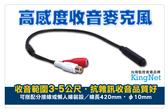 監視器 高感度集音器 麥克風 可搭配懶人線 分接線 收音距離3-5公尺 音質好雜訊低 台灣安防