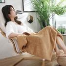 電熱毯 USB電熱毯低壓發熱毯多功能暖手護膝毯披肩毯蓋腿辦公室午睡沙發