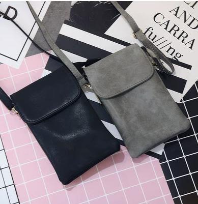 新款復古斜背包迷你小包包6寸大屏手機包8plus手機袋零 【爆款特賣】