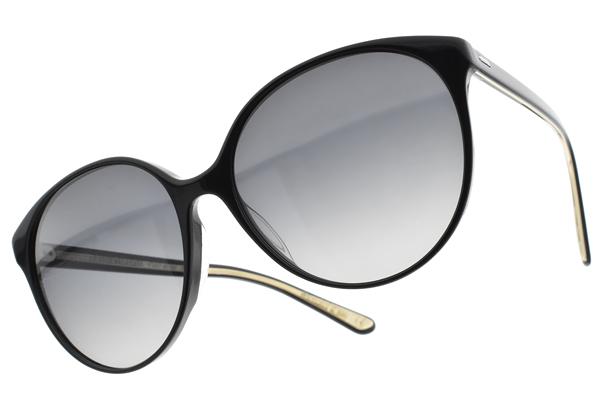 OLIVER PEOPLES 偏光太陽眼鏡  BROOKTREE 1005T3 (黑-漸層灰) 簡約質感貓眼款 墨鏡 # 金橘眼鏡