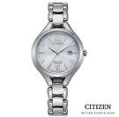CITIZEN 星辰/光動能 鈦金屬真鑽 時尚手錶(EW2560-86A) 現貨/30mm