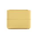 HOLA 鐵製烤漆置物盒2入-黃...