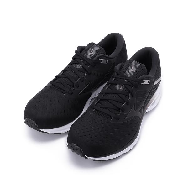 MIZUNO WAVE RIDER 24 慢跑鞋 黑 J1GC200403 男鞋