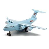 玩具飛機模型軍事客機運20運輸機合金飛機模型兒童玩具聲光回力小飛機