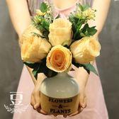 假花 假花仿真花干花裝飾花客廳餐廳擺件 巴黎春天