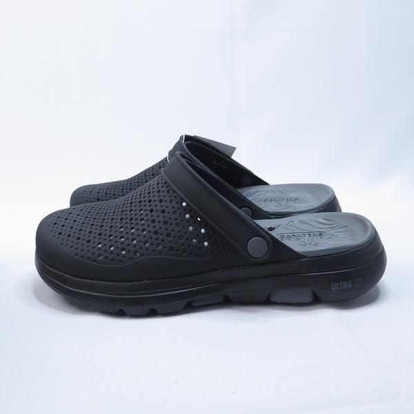 Skechers GO WALK 5 拖涼鞋 243002BKCC 男款 黑【iSport愛運動】