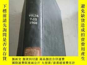 二手書博民逛書店the罕見refractories journal vol.36