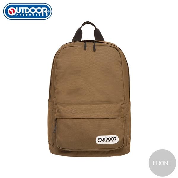 【OUTDOOR】極簡生活3.0-15.6吋筆電後背包-棕色(新色) OD281100BN