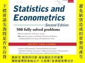 二手書博民逛書店Schaum s罕見Outline Of Statistics