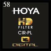 【聖影數位】HOYA HD MC CIR-PL 58mm 超高硬度廣角薄框多層鍍膜環型偏光鏡