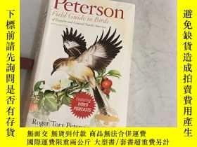 二手書博民逛書店Peterson罕見Field Guide to Birds o