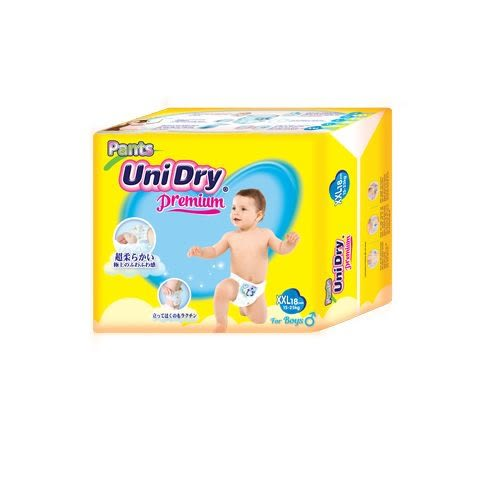 Unidry 優力褲 褲型紙尿褲-男生款XXL18片X8包(箱購)[衛立兒生活館]