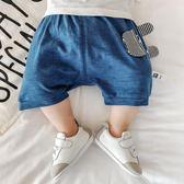 618好康鉅惠夏季男嬰兒薄款兒童褲子純棉短褲女寶寶