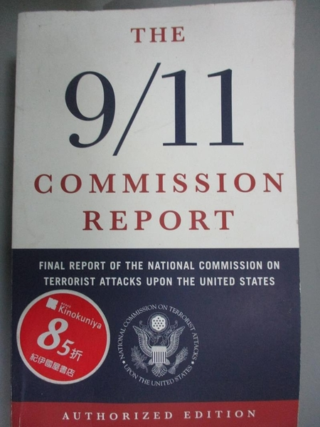【書寶二手書T8/社會_LEO】9/11 Commission Report: Final Report of the…