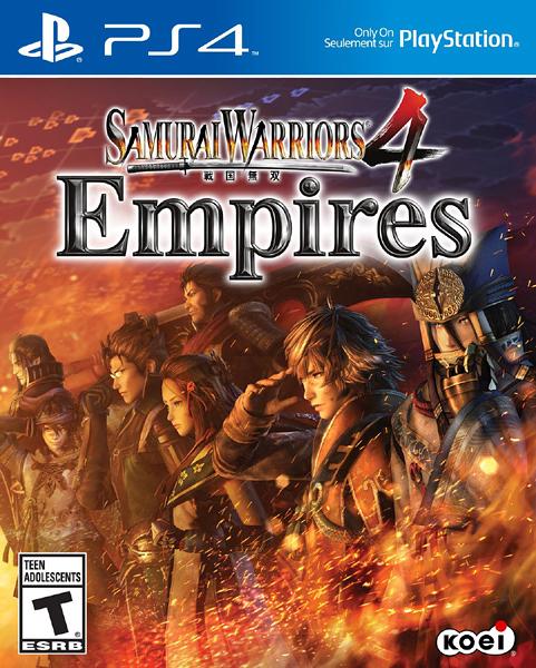 PS4 戰國無雙 4 Empires(美版代購)