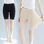 美美大碼服飾100公斤250胖mm夏季高腰收腹蕾絲花邊防走光安全短褲子