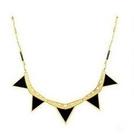 歐美風龐克立體三角型造型項鍊  情人節禮物【Vogues唯格思】A133
